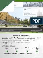 DERIVADA  - URP - 2018
