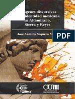 SEQUERA MEZA Imágenes discursivas de la identidad mexicana en Altamirano, Sierra y Reyes