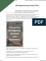 112 livres de développement personnel à lire absolument.pdf