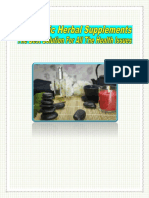 Ayurvedic Herbal Supplements – The Best Solution For All The Health Issues
