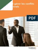 Comment gérer les conflits professionnels