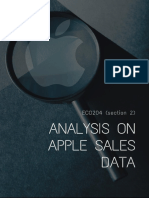Apple Sales Analysis
