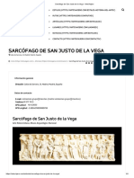 Sarcófago de San Justo de la Vega - ArteViajero