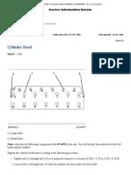 Cylinder Head 3126B