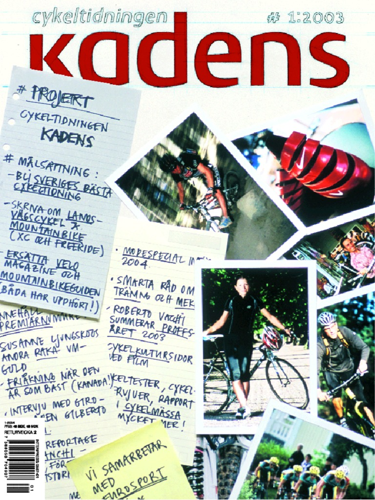 low priced 613e6 0bfa4 Cykeltidningen Kadens   1, 2003