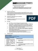 TÉRMINOS DE REFERENCIA 492-2019