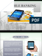 PPT ON MOBILE BANKING