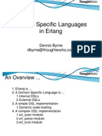 18149479 Domain Specific Languages in Erlang