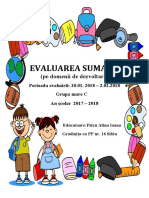 Evaluare Sumativa Grupa Mare