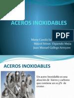ACEROS INOXIDABLES EXPOSICION