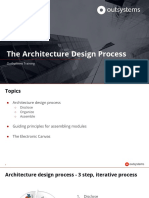 The Architecture Design Process