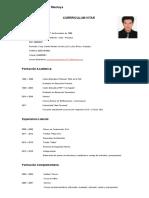Paolo Cesar Álvarez Montoya - Curriculum Vitae