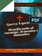 Edgfar geovanni mendoza - GUERRA ESPIRITUAL  Identificando al Enemigo, Demonios e Inmundos