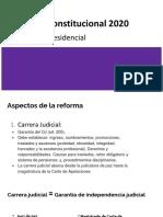Reforma constitucional 2020