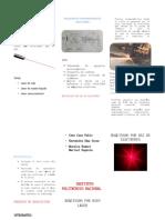 Triptico mecanizado de rayo laser y haz de electrones