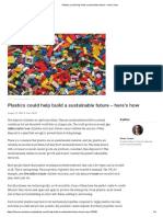 Plastics could help build a sustainable future – here's how