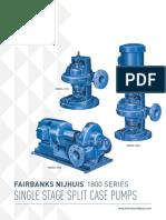 Brochure - 1800 Series Single Stage Split Case Pumps