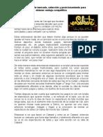 CASO ENSALSATE - Segmentacion de mercado