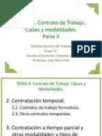 TEMA 04.2 Contrato de trabajo
