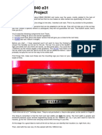 BMW E31 8 Series - Roof Rack