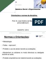 Quimica geral experimental - Orientações e datas.pdf