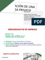 ORGAIZACION DE EMPRESA PRIVADA