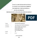 GRUPO II - P DERECHO