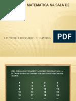 INVESTIGAÇÃO MATEMATICA NA SALA DE AULA