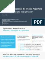 05|10|2020 Derechos y Reintegros de Exportación