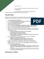 METADATA-  OpenStack Guide v0