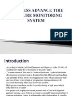 WIRELESS ADVANCE TIRE PRESSURE MONITORING SYSTEM