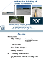 Best Practices for Jointing of Concrete Pavements