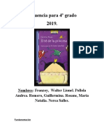 Secuencia para 4º grado . Lengua 2019 (Autoguardado).docx