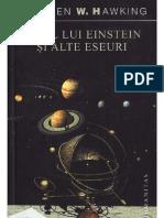 Stephen W. Hawking - Visul lui Einstein şi alte eseuri