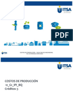 SEMANA 1 - COSTOS DE PRODUCCIÓN