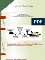 Transmission System Planning- Shri M M Doke