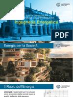 Open Day - Ingengeria Energetica