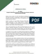 03-10-20 Inauguran Gobernadora Pavlovich y Presidente López Obrador Cuartel de la Guardia Nacional en Bavispe