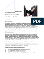 WHITE COLLAR  CRIME worksheet