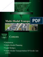 Multi-Modal Transportation