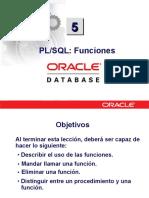 PLSQL 5 Funciones
