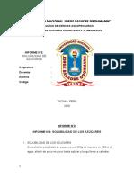 Azucar 2 Informe