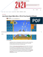 Late-Game Super Mario Bros. 35 Is A True Gauntlet Of Death