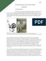 Industrialization Webquest