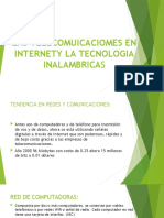 LAS TELECOMUICACIOMES EN INTERNETY LA TECNOLOGIA INALAMBRICAS