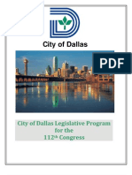 Dallas_LegislativeAgenda2011