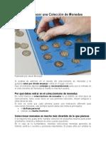 Como hacer una Colección de Monedas