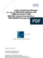 Quick Start Guide to FlashCopy Mgr for SAP on DB2 Storwize SVC DS8k AIX Linux v2.3
