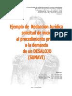 Modelo de Redaccion Juridica