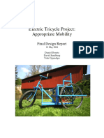 Electric Tricycle Project (2004 FDR)